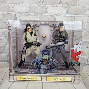 """Ghostbusters II Ray Stantz Egon Spengler 12"""" Figures Mattel New"""